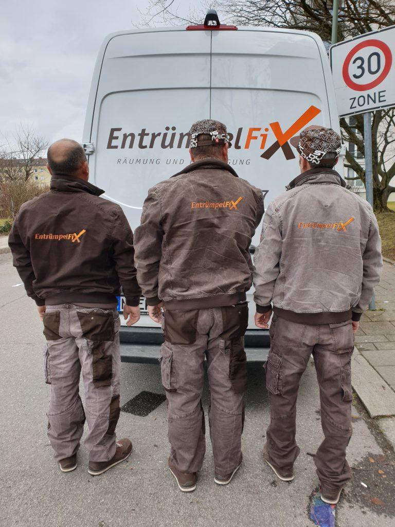 Entrümpelung in München mit EntrümpelFix